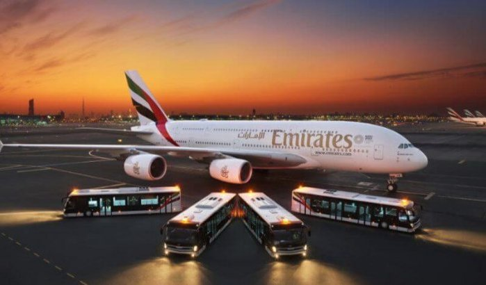 Emirates Airlines opera dos vuelos especiales con destino a Marruecos