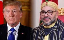 Mohammed VI distingue a Donald Trump